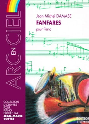 Jean-Michel Damase - Fanfares For Piano - Partition - di-arezzo.co.uk