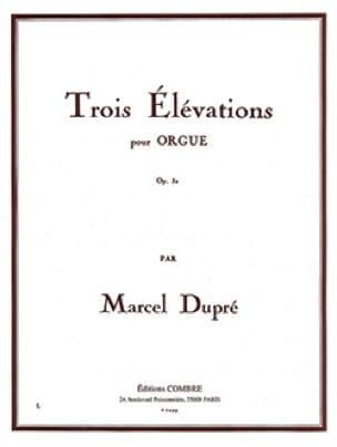 Marcel Dupré - 3 Elevations Opus 32 - Partition - di-arezzo.com