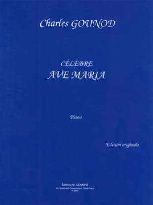 Ave Maria. Piano - GOUNOD - Partition - Piano - laflutedepan.com