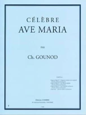 Charles Gounod - Ave Maria N°1 Bis. Mezzo-Soprano - Partition - di-arezzo.fr