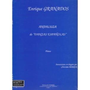Andaluza - Enrique Granados - Partition - Piano - laflutedepan.com