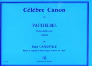 Johann Pachelbel - Famous Canon. Organ - Partition - di-arezzo.com