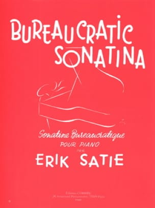 Erik Satie - Sonatine Bureaucratic - Partition - di-arezzo.co.uk