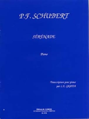 SCHUBERT - Serenade D 957 - Partition - di-arezzo.co.uk