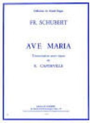 SCHUBERT - Ave Maria. Organ - Partition - di-arezzo.co.uk