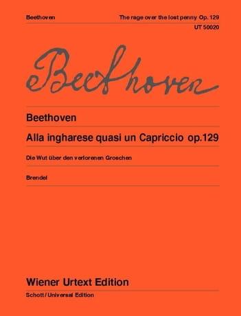 Alla Ingharese Quasi un Capriccio Op. 129 - laflutedepan.com