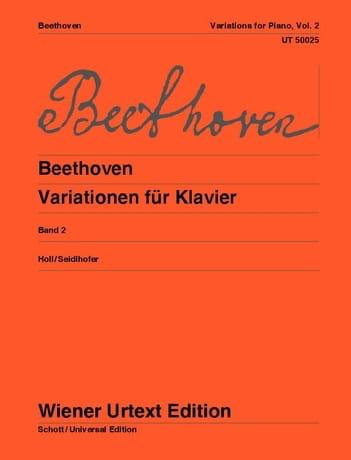 Variations pour piano, Volume 2 - BEETHOVEN - laflutedepan.com