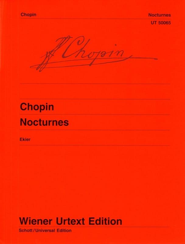CHOPIN - Nocturnes - Partition - di-arezzo.co.uk