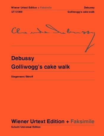 Golliwogg's Cake Walk + fac-similé - DEBUSSY - laflutedepan.com