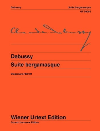Suite Bergamasque - DEBUSSY - Partition - Piano - laflutedepan.com