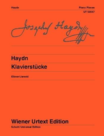 Klavierstücke Auswahl - HAYDN - Partition - Piano - laflutedepan.com