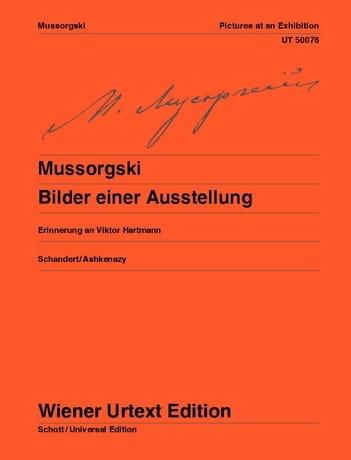 Tableaux D'une Exposition - Modest Moussorgsky - laflutedepan.com