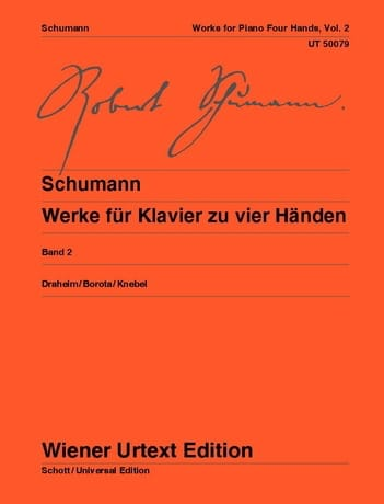 SCHUMANN - Klavierwerke Bd 2 - 4 hands - Partition - di-arezzo.co.uk