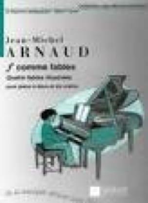 F Comme Fables. 2 et 6 Mains - Arnaud - Partition - laflutedepan.com