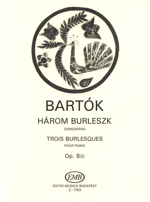 3 Burlesques. Opus 8c - BARTOK - Partition - Piano - laflutedepan.com