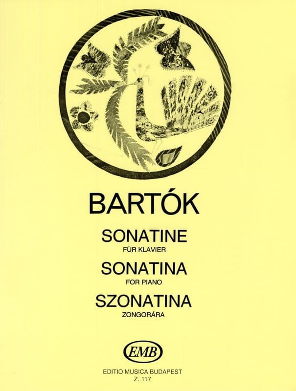 Sonatine - BARTOK - Partition - Piano - laflutedepan.com