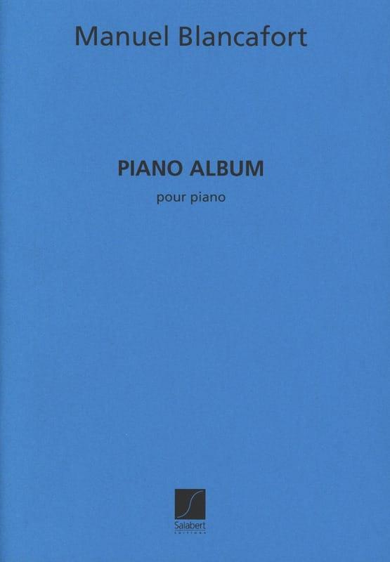 Piano Album - Manuel Blancafort - Partition - Piano - laflutedepan.com