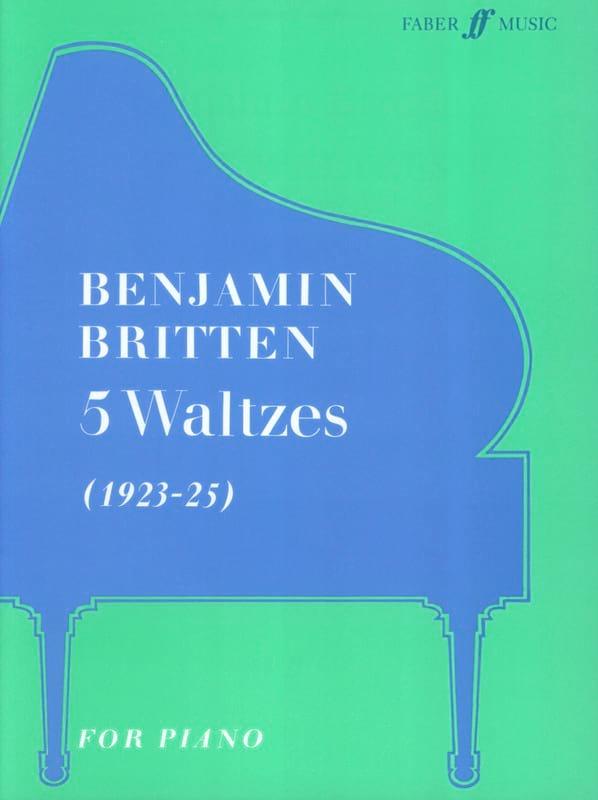5 Valses - BRITTEN - Partition - Piano - laflutedepan.com