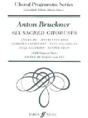 6 Choeurs Sacrés - BRUCKNER - Partition - Chœur - laflutedepan.com