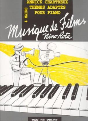 Annick Chartreux - Soundtracks of Nino Rota. 4 hands. - Partition - di-arezzo.com