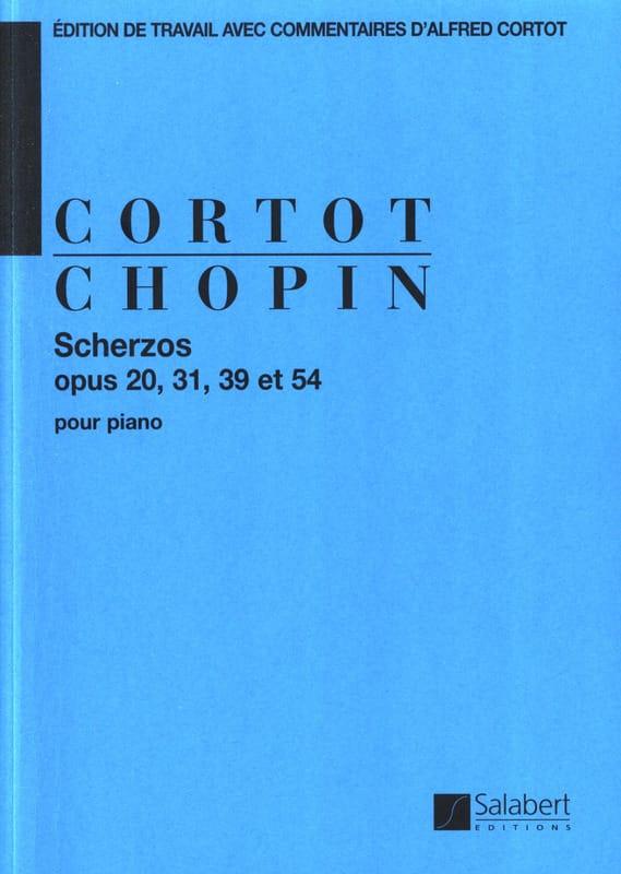 4 Scherzos - CHOPIN - Partition - Piano - laflutedepan.com