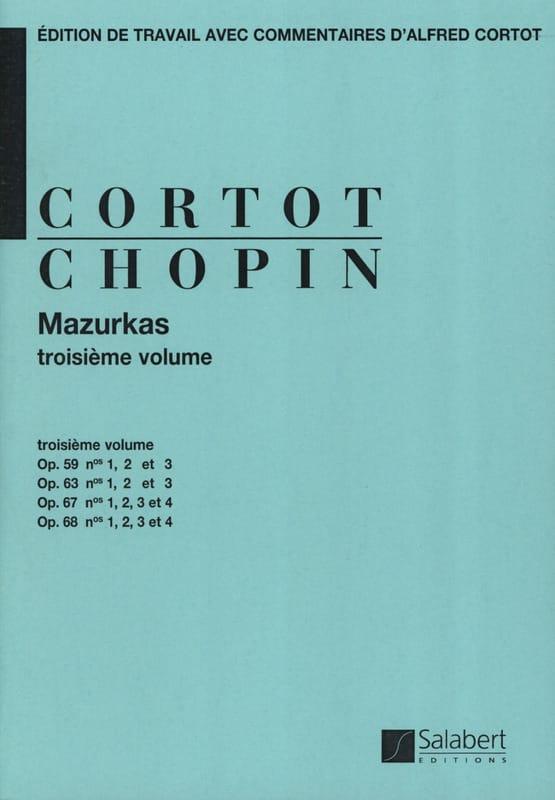 Mazurkas. Volume 3 - CHOPIN - Partition - Piano - laflutedepan.com