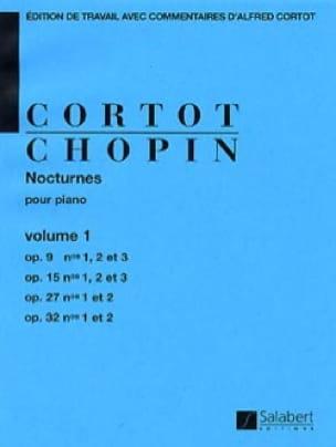 CHOPIN - Nocturnes. Volume 1 - Partition - di-arezzo.co.uk