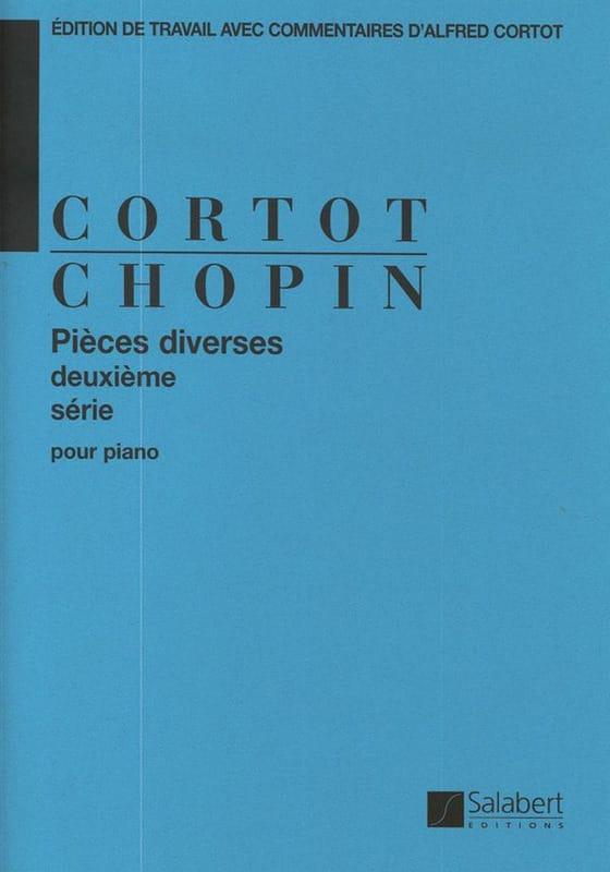 Pièces diverses - Volume 2 - CHOPIN - Partition - laflutedepan.com