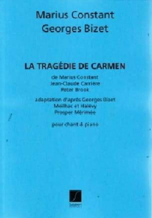 La Tragédie de Carmen - Marius Constant - Partition - laflutedepan.com