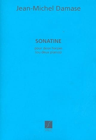 Sonatine. 2 Pianos - Jean-Michel Damase - Partition - laflutedepan.com