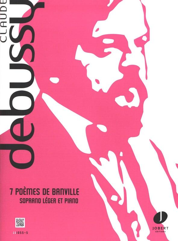 DEBUSSY - 7 Poems Of Banville - Partition - di-arezzo.co.uk