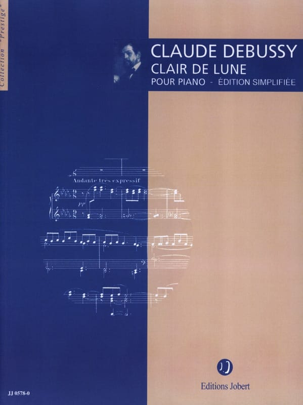 Clair de lune Version simplifiée - DEBUSSY - laflutedepan.com