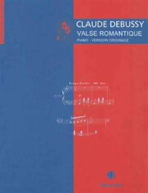 Valse romantique - DEBUSSY - Partition - Piano - laflutedepan.com