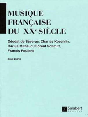 Musique Française Du 20ème Siècle - Partition - laflutedepan.com