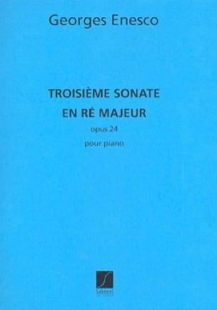 Sonate N° 3 Ré Majeur Opus 24. - ENESCO - Partition - laflutedepan.com