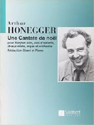 Arthur Honegger - Christmas cantata - Partition - di-arezzo.co.uk