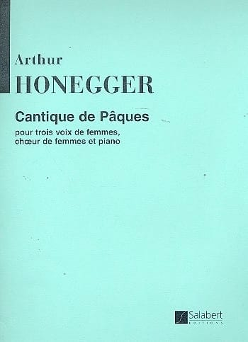 Arthur Honegger - Easter song - Partition - di-arezzo.co.uk