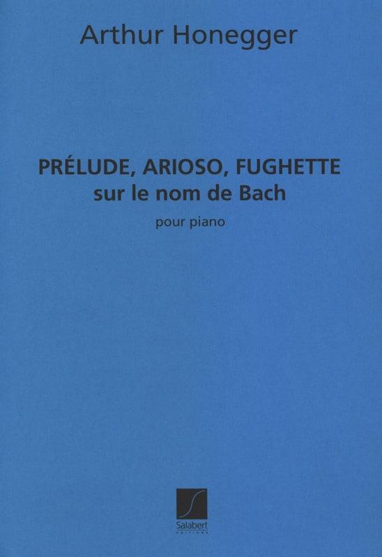 Prélude, Arioso, Fuguette sur le nom de Bach - laflutedepan.com
