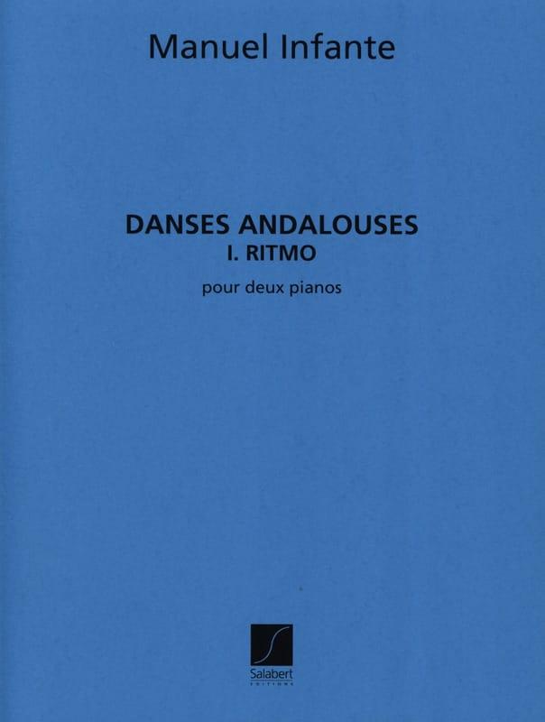 Danses Andalouses N°1 Ritmo - 2 Pianos - laflutedepan.com