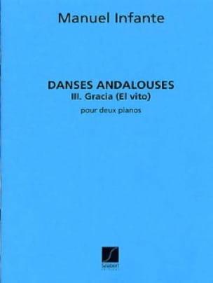 Danses Andalouses N°3 Gracia. 2 Pianos - laflutedepan.com