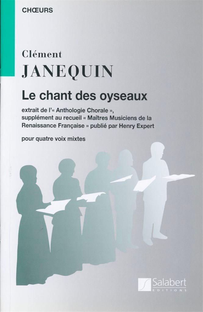 Le Chant des Oiseaux - Clément Janequin - Partition - laflutedepan.com