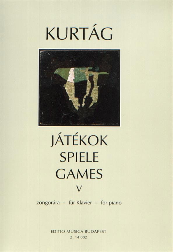 György Kurtag - Jatekok Volume 5 - Partition - di-arezzo.co.uk