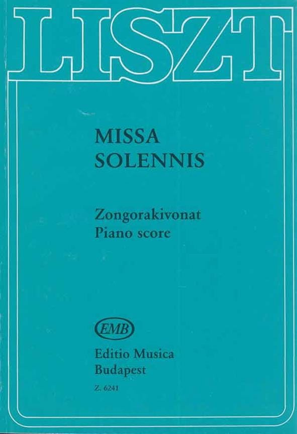 Missa Solemnis Graner Messe - LISZT - Partition - laflutedepan.com