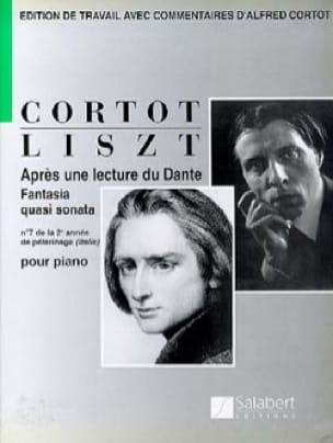 Après une lecture de Dante - Franz Liszt - laflutedepan.com