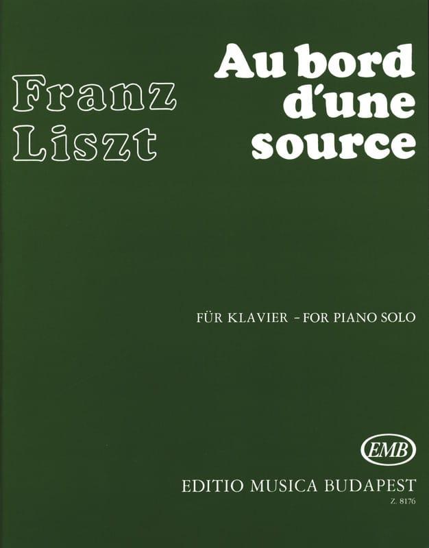 Au bord d'une source - LISZT - Partition - Piano - laflutedepan.com