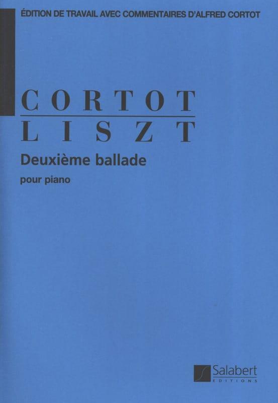 Ballade N° 2 - LISZT - Partition - Piano - laflutedepan.com