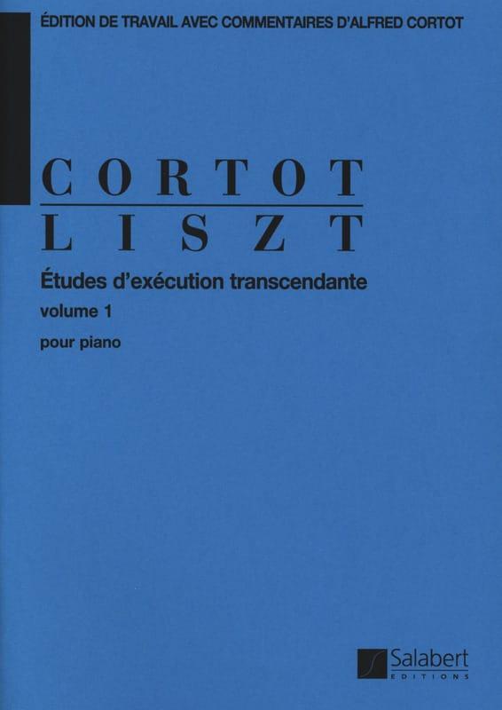 Etudes D'exécution Transcendante. Volume 1 - LISZT - laflutedepan.com