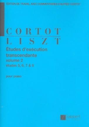 Etudes D'exécution Transcendante. Volume 2 - LISZT - laflutedepan.com