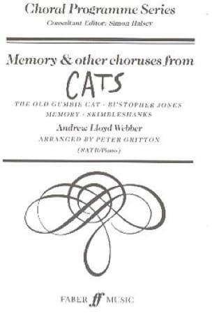 Memory et Autres Choeurs Extraits de Cats - laflutedepan.com