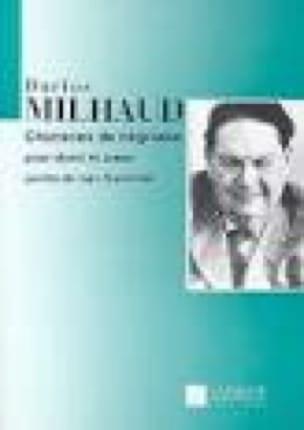 Chansons de négresse - MILHAUD - Partition - laflutedepan.com